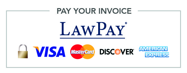 """Law Pay"" Select from a number of payment options."