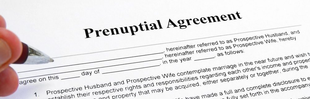 Family Law Marital agreement